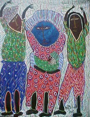 What Is Voodoo >> Maxan Jean Louis ! Saint Soleil Artists , Haitian Art ...